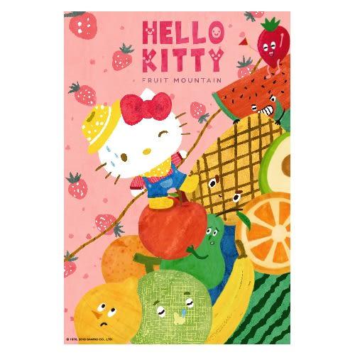 【拼圖總動員 PUZZLE STORY】Hello Kitty水果大冒險-水果山 PuzzleStory/三麗鷗 x 咚東/繪畫/300P