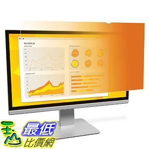 [106美國直購] 3M GF215W9B 螢幕防窺片 3M Gold Privacy Filter for 21.5吋 Widescreen Monitor