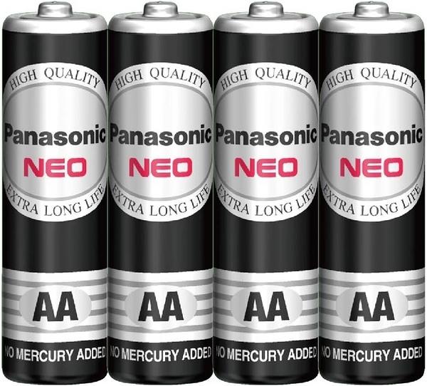 國際牌Panasonic 黑錳電池 3號 AA 4入