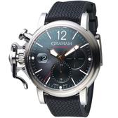 GRAHAM格林漢Chronofighter Grand Vintage腕錶 2CVDS.B25A.K134S 黑