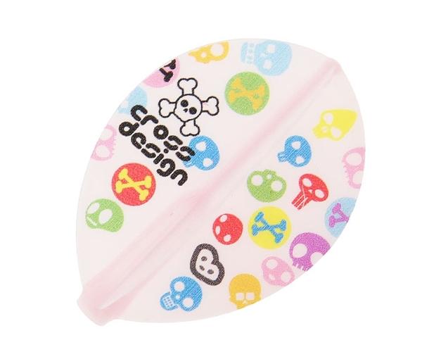 【Fit Flight AIR x CrossDesign】GumiGumi TearDrop Clear Pink 鏢翼 DARTS