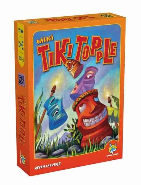 【KANGA GAMES】推倒提基迷你 Tiki Topple Mini 家庭益智派對桌上遊戲