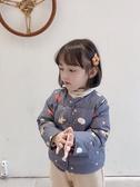 abao女童羽絨內膽服小女孩輕薄保暖長袖外套兒童白鴨絨短款上衣潮  極有家
