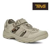 丹大戶外【TEVA】男 護趾水陸機能涼鞋 灰褐色 TV1116202PLTP 鞋子│雨鞋│水鞋│休閒鞋│平底鞋