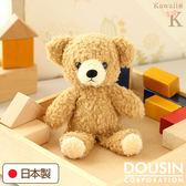 Hamee 日本製 手工原創商品 細緻絨毛娃娃 軟綿綿系列 療癒玩偶 禮物 泰迪熊 棕熊(咖啡色/S) 640-110015