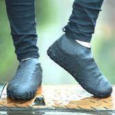 雨天出行防雨鞋套環保硅膠男女兒童防水鞋套加厚耐磨防滑鞋底戶外