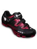 【ATEMPO】MRB 登山車卡鞋 女款 桃紅黑  碳纖大底/超高CP值