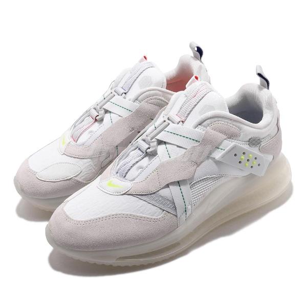 Nike 休閒鞋 Air Max 720 Slip OBJ 白 灰 男鞋 運動鞋 大氣墊 【PUMP306】 DA4155-100