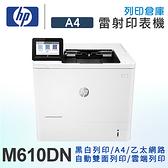 HP LaserJet Enterprise M610dn 黑白雷射印表機 /適用 W1470A