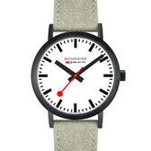MONDAINE 瑞士國鐵Classic腕錶-40mm/IP黑 66061BG