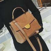 手提包 包包女2018新款肩背包大容量側背包大包包歐美復古女包斜背包 萬聖節