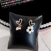 耳環韓國網紅耳環女2019新款潮可愛珍珠耳釘女精緻小巧簡約氣質款耳飾 非凡小鋪
