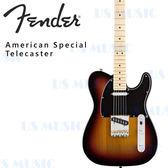 【非凡樂器】FENDER American Special Telecaster 3TSB『美國原廠/全附件/公司貨保固/楓木指版』