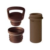 【HYDY】瓶蓋組合+泡茶器 (摩卡色)