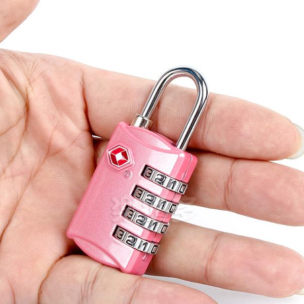 TSA海關鎖 行李箱鎖 隨身行李袋鎖 旅行袋鎖TSA309 隨機出貨不挑色