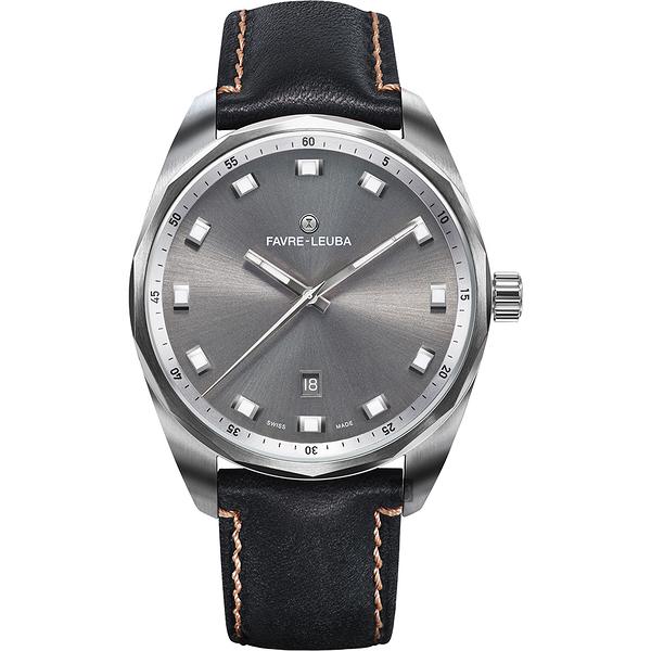 Favre-Leuba 域峰錶 SKY CHIEF DATE都會紳士機械手錶 00.10201.08.31.41