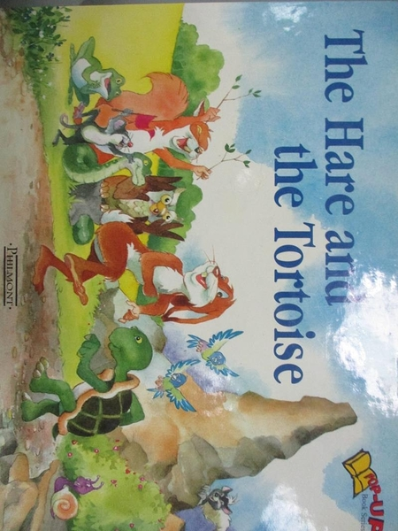 【書寶二手書T3/少年童書_QFJ】The Hare and The Tortoise_林麗雯