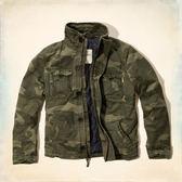 (BJGO) Hollister _男裝_Rockpile Jacket 經典迷彩鋪棉立領夾克  新品現貨