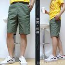 【大盤大】(A059) 男 夏季 休閒短褲 M-3XL 五分褲 薄款 寬鬆 素色素面 口袋拉鏈工作褲 有大尺碼