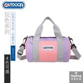 OUTDOOR 側背包 玩色系列 小包 圓筒側背包 手提包 2WAY 兩用包 OD101129 得意時袋