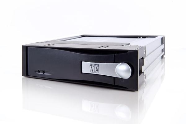 ICY DOCK MB123SK-1B 3.5吋SATA硬碟抽取盒