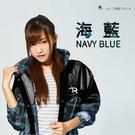 【東門城】雙龍牌 EK4289 迷彩偽裝前開雨衣 海藍 一件式
