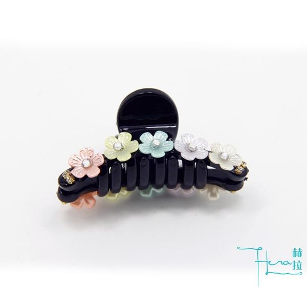 【Hera 赫拉】亞克力彩色雛菊花朵發抓夾髮夾發卡 蝶夢 髮飾頭飾