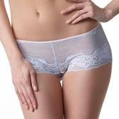 LADY 奧蕾莉系列 中低腰平口褲(水波藍)
