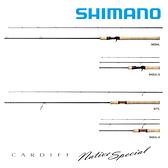 漁拓釣具 SHIMANO CARDIFF NATIVE SPECIAL B54UL [淡水路亞竿]