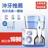 沖牙機 洗牙器 潔牙器 牙齒沖洗器 家用型沖牙機 清潔器 電動沖牙器 3色