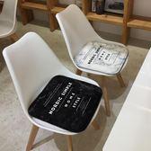 北歐簡約逼格坐墊 辦公室餐椅墊沙發吊椅墊