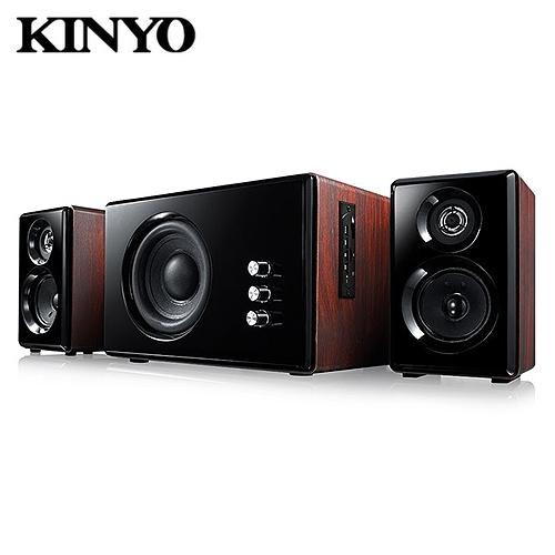 【KINYO 耐嘉】2.1藍牙多媒體音箱(KY-1852)