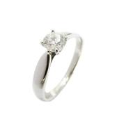 Tiffany & Co 蒂芬妮 Harmony系列0.35克拉鉑金鑲圓形明亮式鑽石戒指 【BRAND OFF】