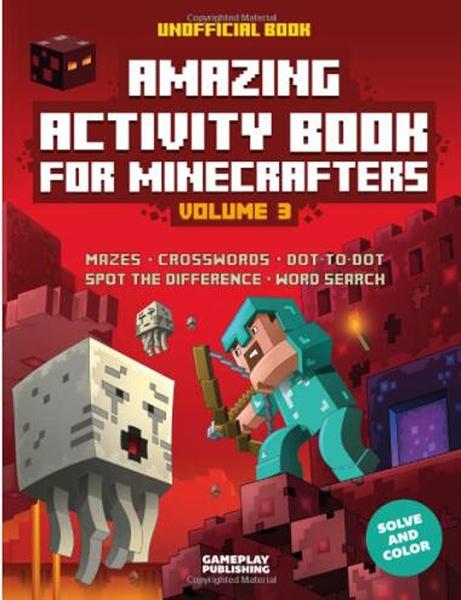 [ 美國直購暢銷書] Amazing Minecraft Activity Book (Volume 3)