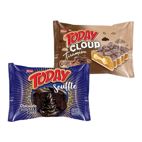 土耳其 Today 雲朵蛋糕(提拉米蘇)/舒芙蕾蛋糕(黑巧克力)50g 款式可選 【小三美日】