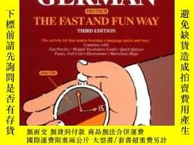 二手書博民逛書店Learn罕見German The Fast And Fun WayY256260 Graves, Paul