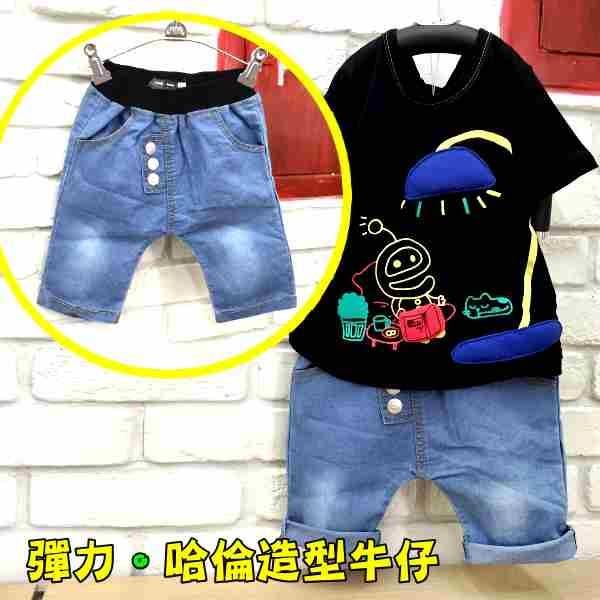 韓版牛仔潮褲