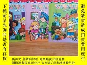 二手書博民逛書店Question罕見and Answer Book: What?WHO?WHEN?【3本合售童書】Y12800