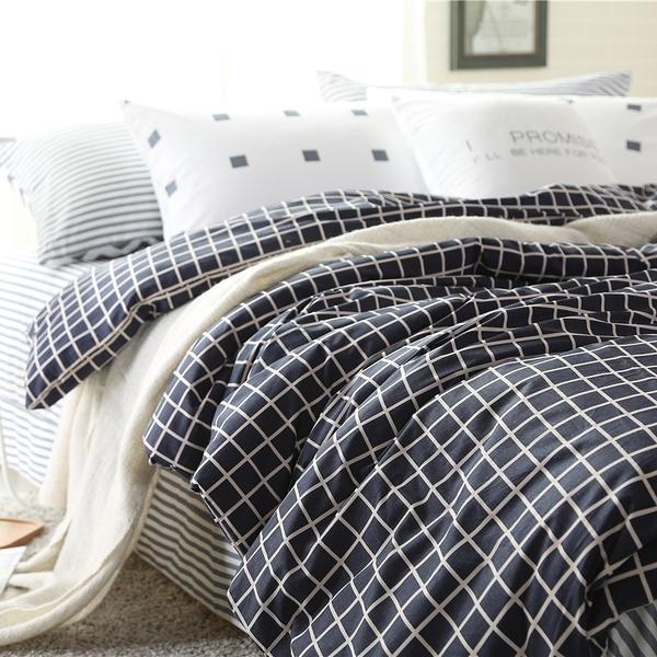 簡約北歐風 標準雙人 格格巫 ikea 床包 5尺 男生床包 清新 被單200x230 訂做被單 佛你企業