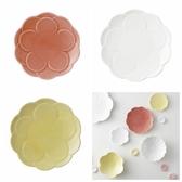 日本陶瓷【小田陶器】牡丹盤 3色可選 花卉瓷盤 17cm 餐盤 瓷盤 陶瓷 餐具 盤子