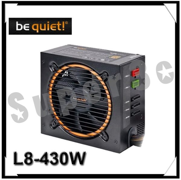 新竹【超人3C】be quiet! PURE Power 430W 85+銅牌 半模組 高達88%節能效率