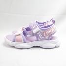FILA 魔鬼氈 中童 涼鞋 2S427V191 白紫粉 整數尺碼【iSport愛運動】