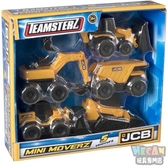 Teamsterz JCB 迷你工程車輛組5 入68861