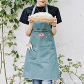 創意畫畫圍裙女成人時尚韓版家用美術生繪畫衣防水防污工作服訂製 新品全館85折