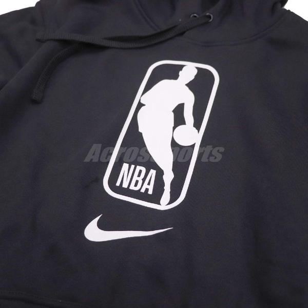 Nike 帽T Hoodie Fleece Club Team SB X NBA Logo 黑白 男款 連帽上衣 【ACS】 AR0991-010