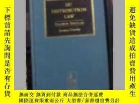 二手書博民逛書店英文原版罕見EU Distribution Law by Joa