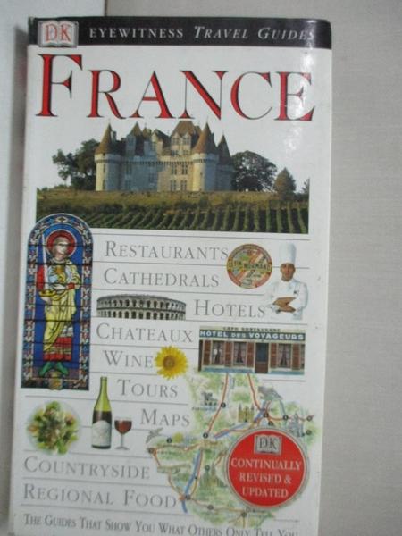 【書寶二手書T1/旅遊_H6Q】France (DK Eyewitness Travel Guide)_unknown