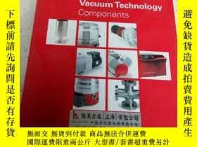 二手書博民逛書店Vacuum罕見Technology components(外文