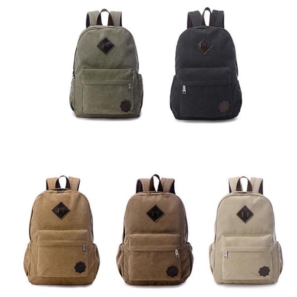 【5折超值價】經典潮流日系簡約豬鼻造型百搭後背包