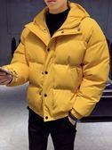 冬季棉衣男士棉襖短款連帽加厚外套青年潮流加厚羽絨棉服2019新款
